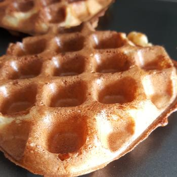Bublé  Sourdough waffle first overview