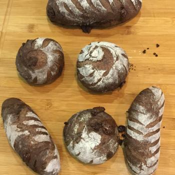 HealthyYummySpelt Sweet breads first overview