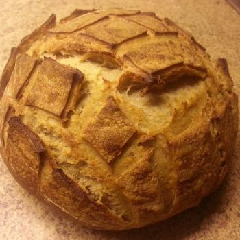 Honey Bunny Sourdough Boule first overview