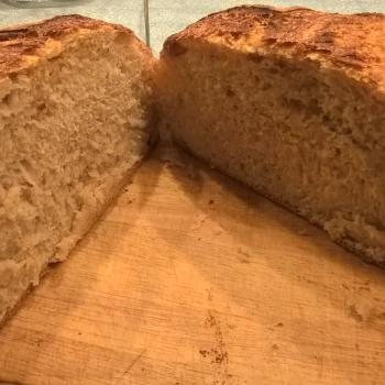 Katerina's Prozymaki Bread second slice