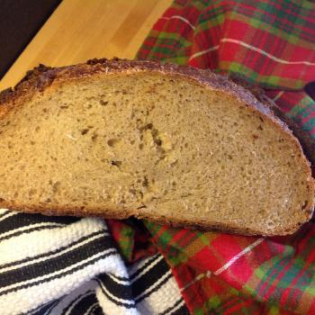 Nickel-dime rye A couple of bakes first slice