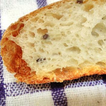 Puneri Rustic loaf second slice