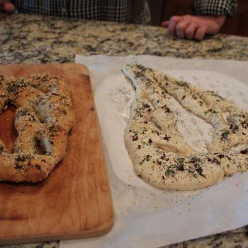 Tuffa Pizza, cinnamon buns, poppy seed roll, babka, fougasse, etc.  first overview